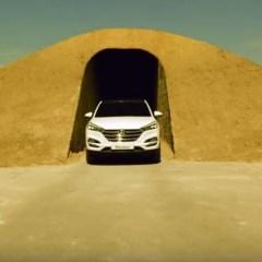 Insolite : Le Hyundai Tucson défie un circuit de sable !