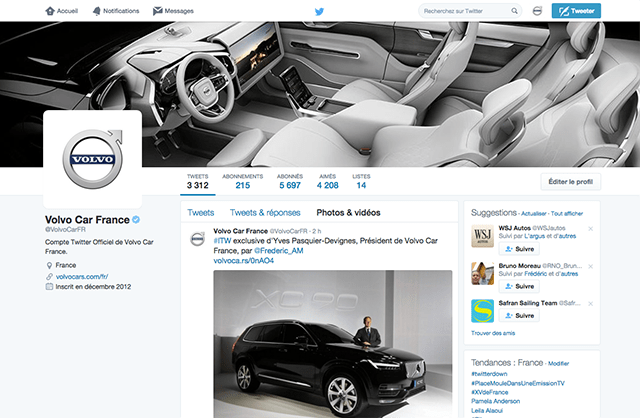 VolvoCarFrance_Twitter_Homepage