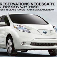 Insolite : Nissan se moque de Tesla pour promouvoir la Leaf !
