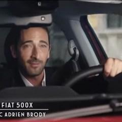 """Fiat 500X : Le """"nouveau"""" crossover… avec Adrien Brody dedans!"""