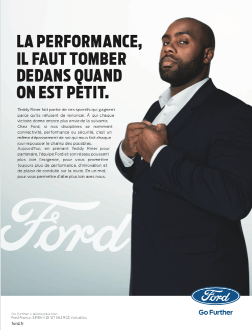 ford x teddy riner cestteddyquiladit automotive. Black Bedroom Furniture Sets. Home Design Ideas