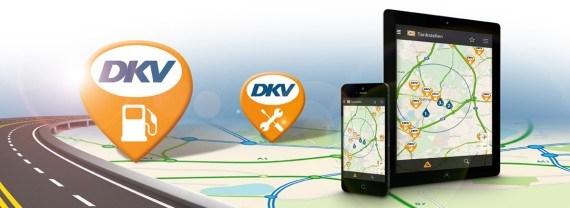 DKV APP – In qualsiasi momento potete trovare stazioni di servizio e di rifornimento in tutta Europa