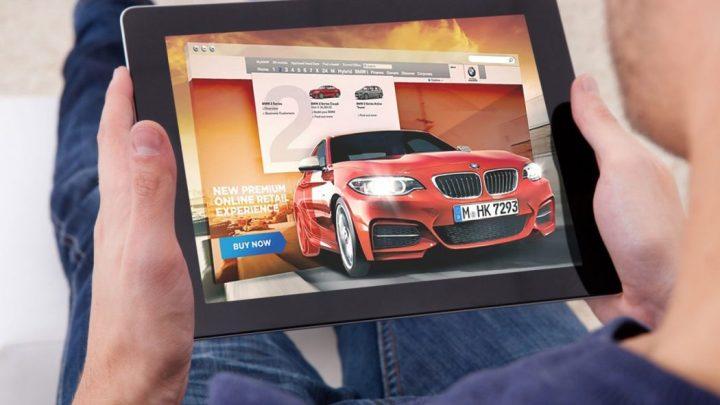 Nel 97% dei casi il percorso di acquisto di un auto comincia su Internet