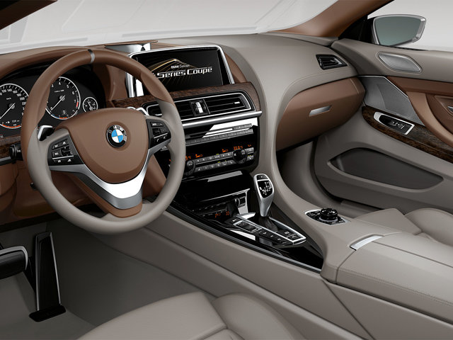 100 Hot Cars  BMW 6Series Coupe Concept