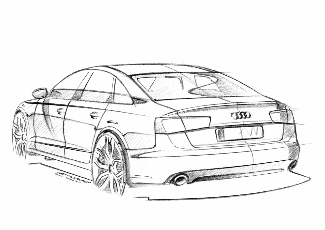 100 Hot Cars » Audi A6 Supercharged