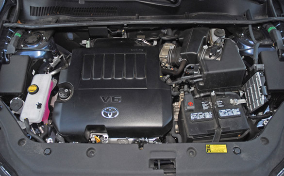 2007 Toyota Rav4 Limited Engine Parts Diagram