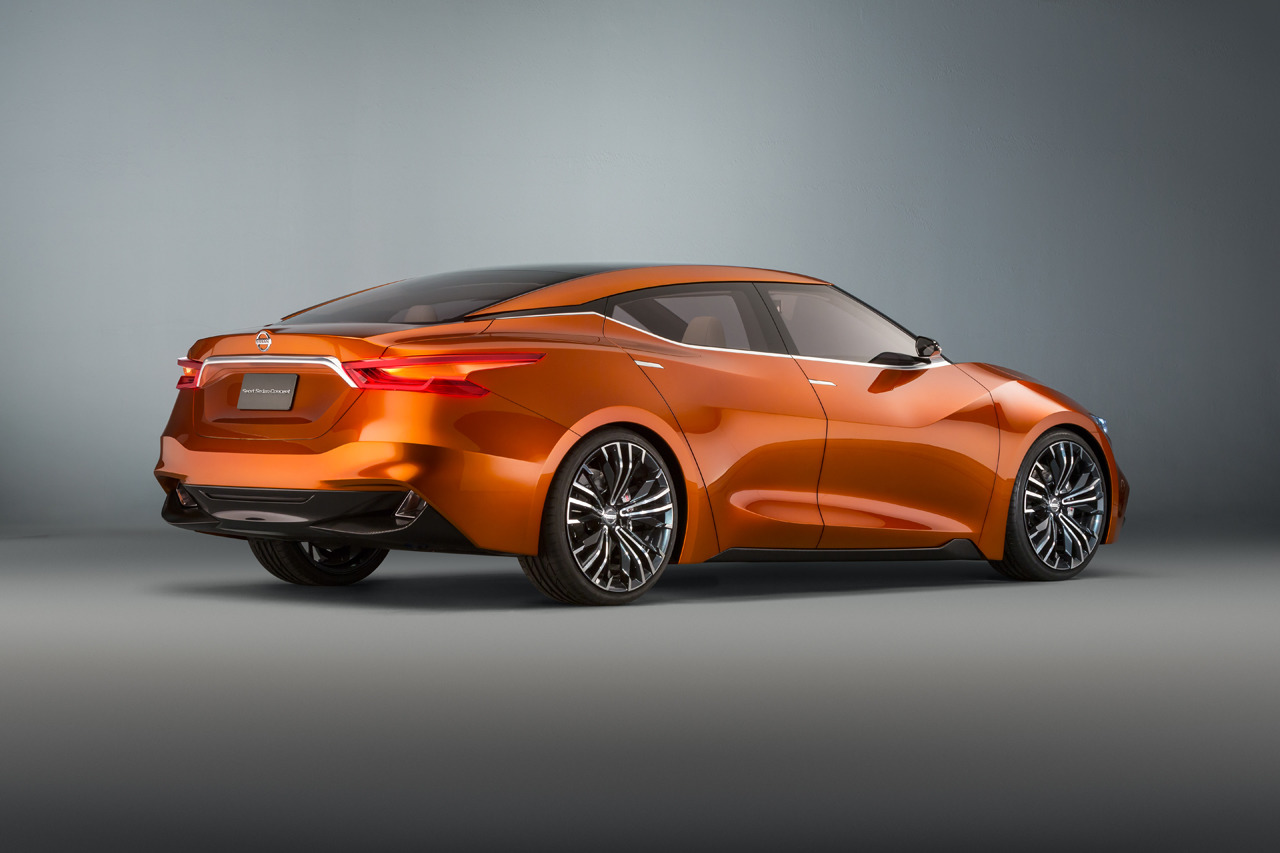 100 Hot Cars Nissan Sport Sedan Concept