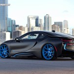 Bmw I8 Gets Unique Transformation From Set Of Hre Wheels Automotive Addicts