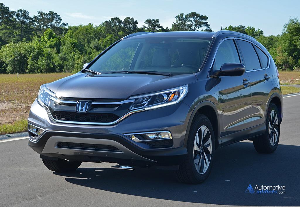2015 Honda CR V AWD Touring Review Amp Test Drive