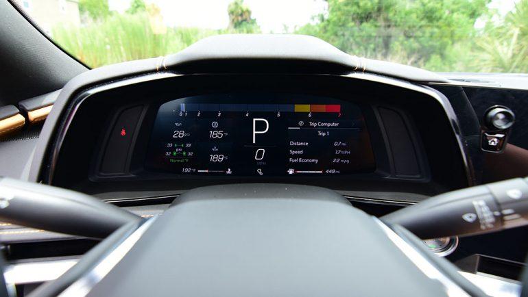 2021 chevrolet corvette stingray c8 convertible gauges track mode
