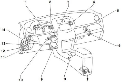 2001 pt cruiser speaker wiring diagram 06 ford fusion fuse toyota rav4 2000-2001-2002-2003 engine computer repair $62 life warranty