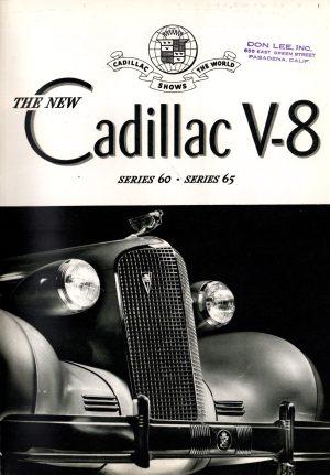 1937 Cadillac Brochure