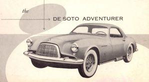 1953 De Soto Adventurer Brochure