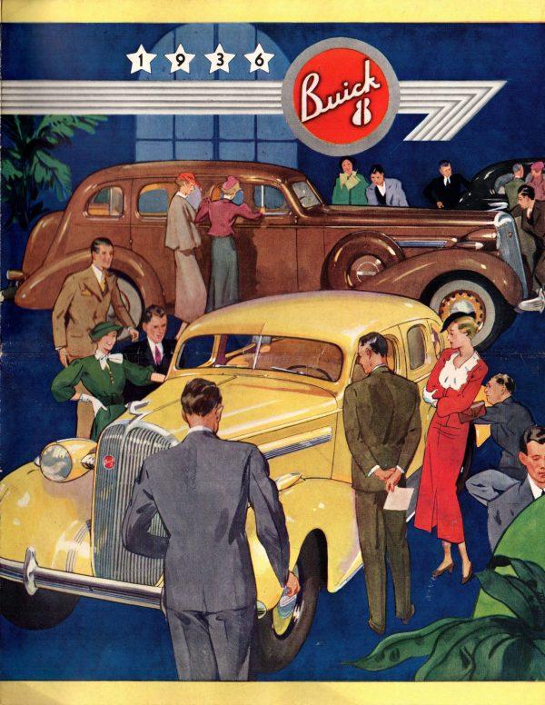 1936 Buick Brochure