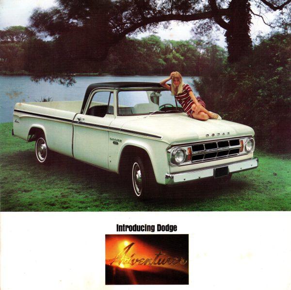 1968 Dodge Pickups Brochure