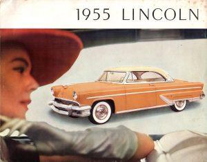 1955 Lincoln Brochure