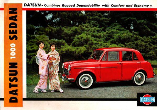 1960 Datsun 1000 Brochure