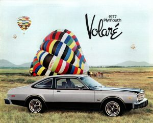 1977 Plymouth Volare Brochure