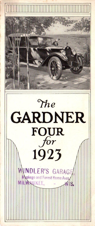 1923 Gardner Brochure