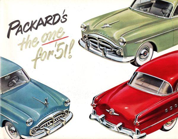 1951 Packard Folder