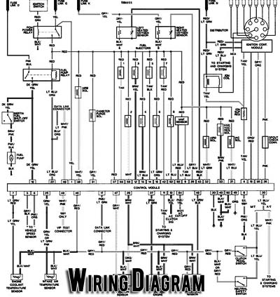 86 Ecm Wiring Maf Diagram