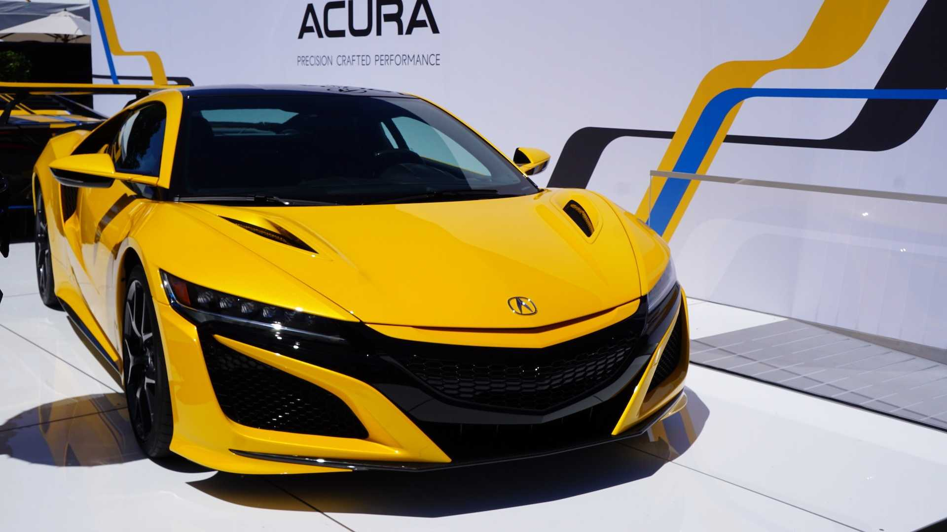 acura type s concept unveiled at the quail