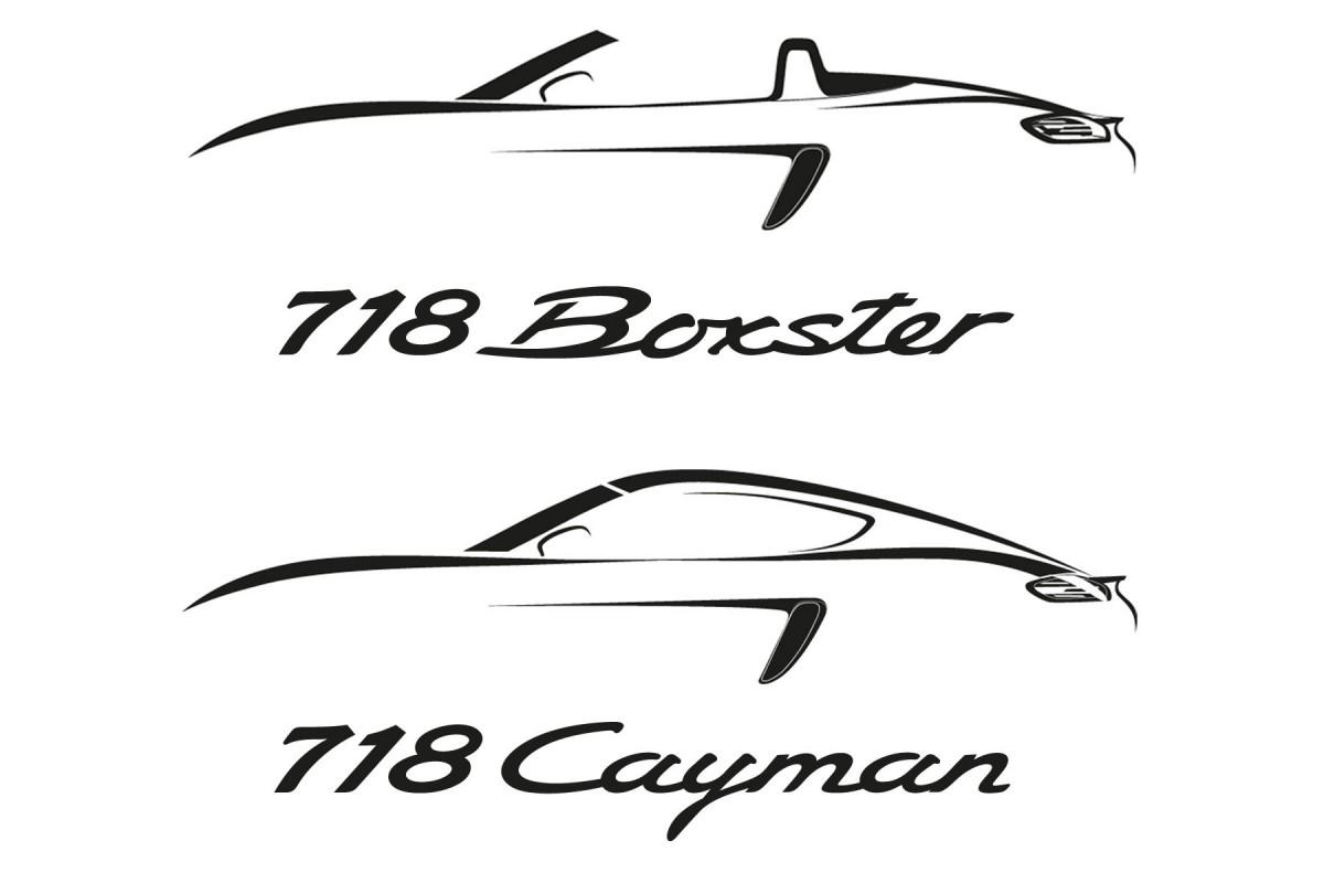 Porsche 718 Boxster Et Cayman Le Retour Du 4 Cylindres