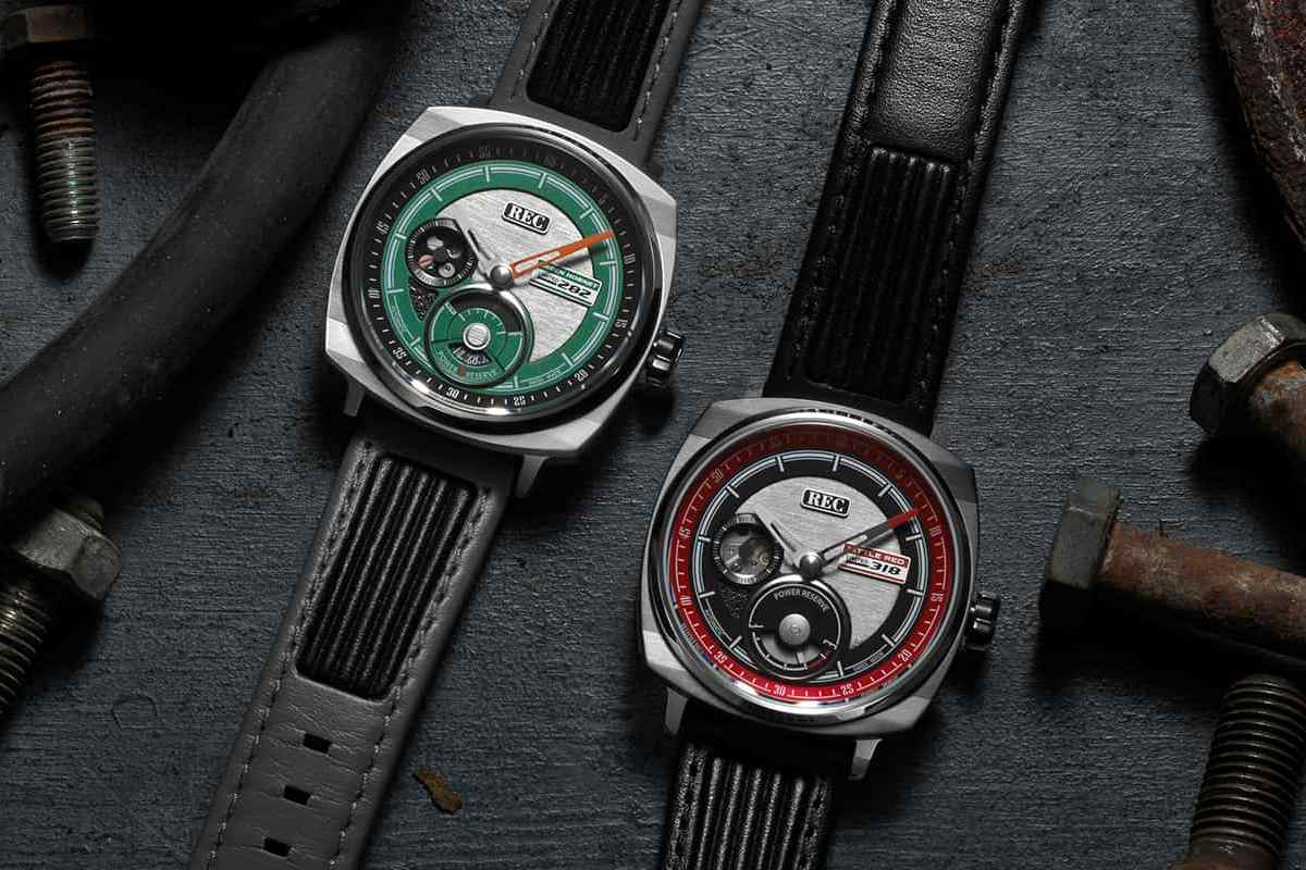 "REC Watches P-51 ""Little Red"" et ""Green Hornet"", réincarnation horlogère des deux Mustang Shelby GT 500EXP"