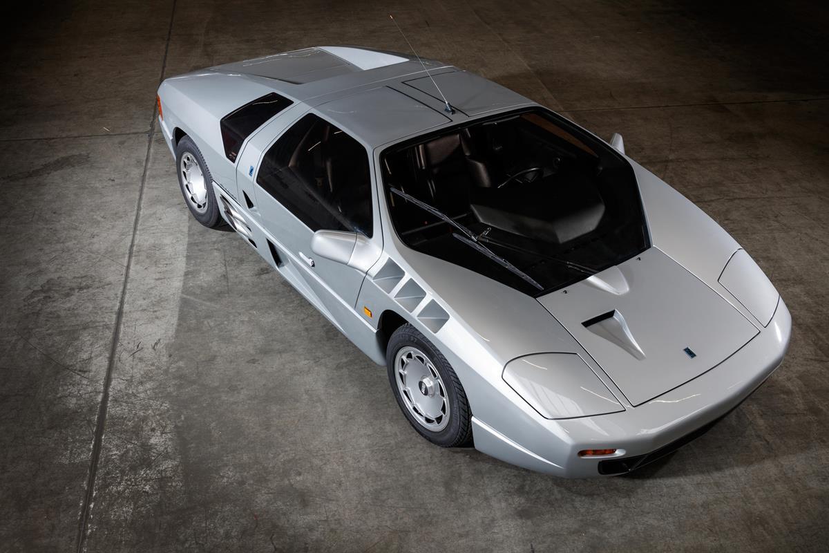 Isdera Imperator 108i : Concept-car Mercedes homologué pour la route, en vente chez Bonhams