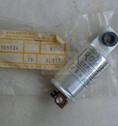 vespa lt 50 150 new flasher w fuse 6v 20w [ 1920 x 1080 Pixel ]