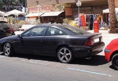 Opel Calibra na Wyspach Kanaryjskich