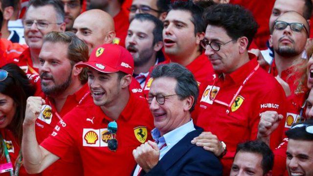 L'amministratore delegato della Ferrari si dimette.