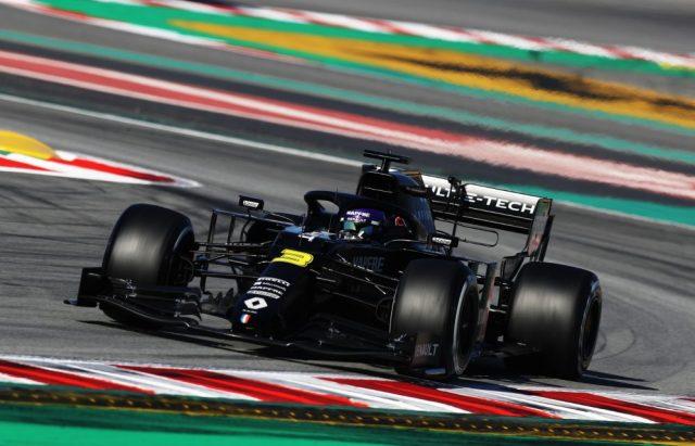 Renault nei test