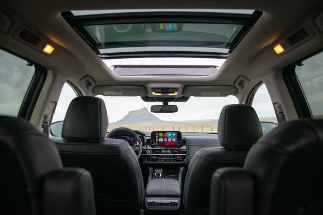 Nissan Pathfinder sedili anteriori