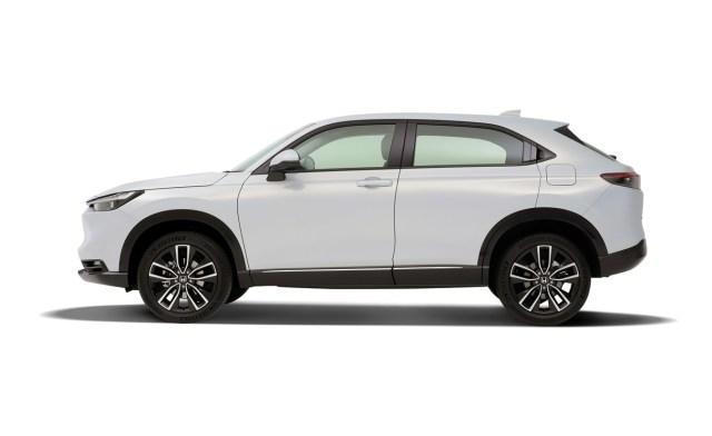 Honda HR-V e:HEV 2021 fiancata