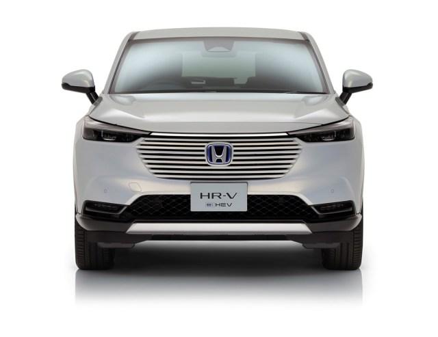 Honda HR-V e:HEV 2021 anteriore