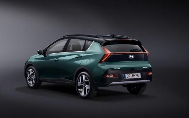 Hyundai BAYON posteriore