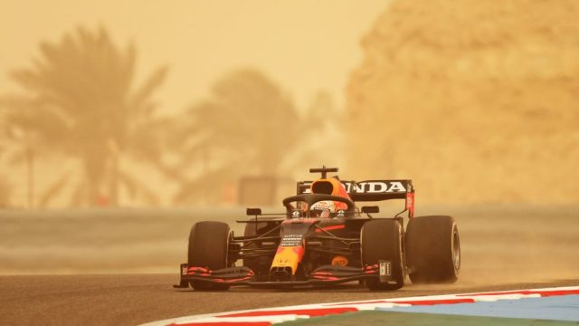 Terza giornata di Test pre-stagionali  di F1, Max Verstappen.