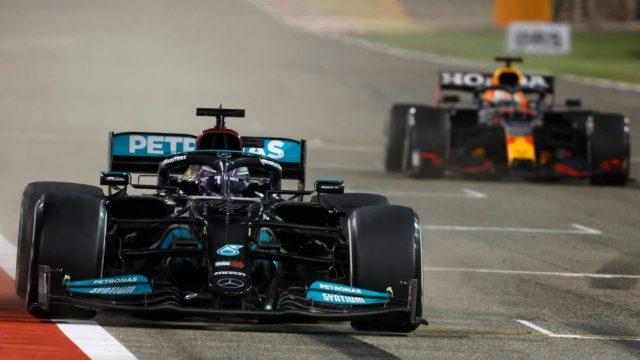 Mercedes in Bahrain Gp