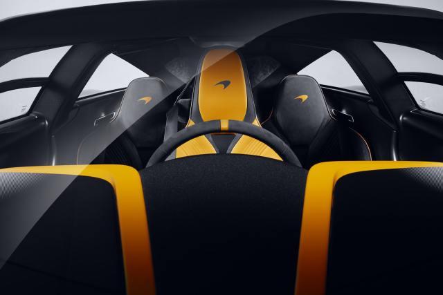 McLaren Speedtail Albert interni
