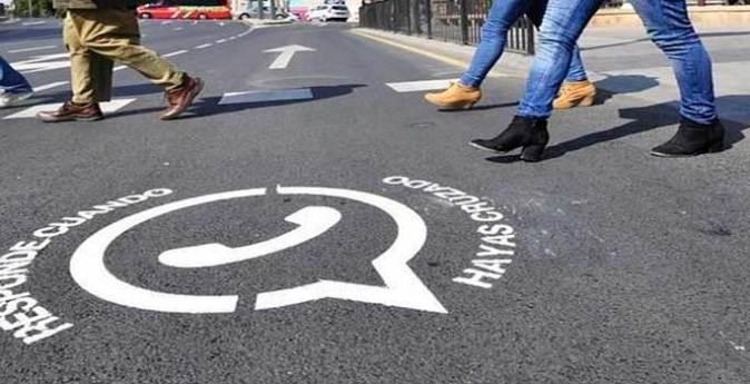 El creciente número de atropellos a peatones, causados por las distracciones con el teléfono móvil, ha obligado a tomar medidas extraordinarias