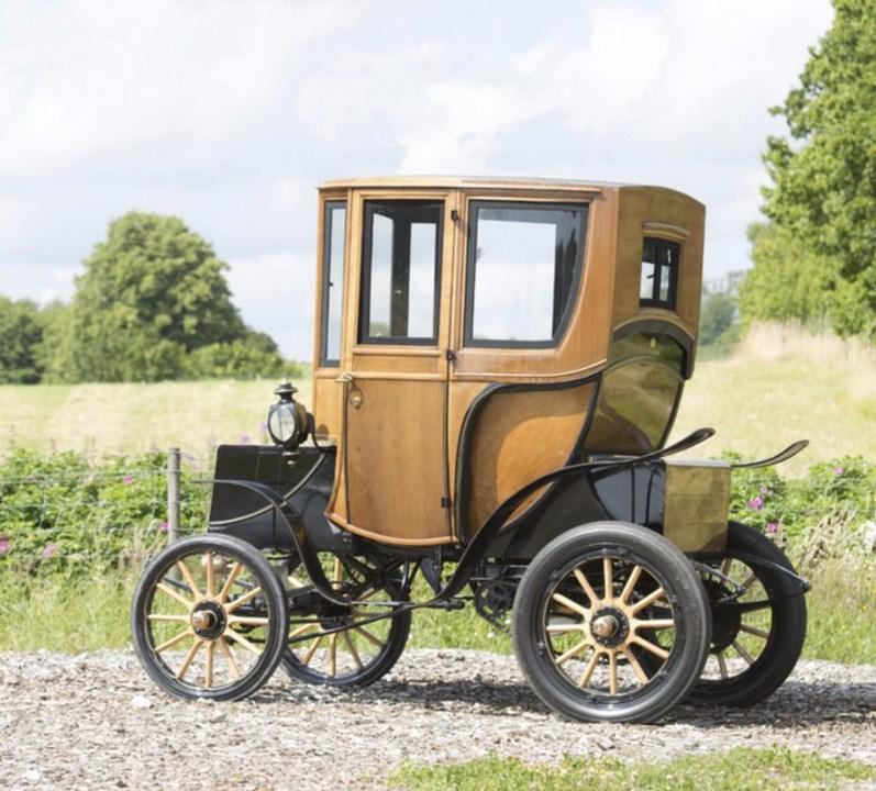 Los coches eléctricos, ya existía en el Siglo XIX