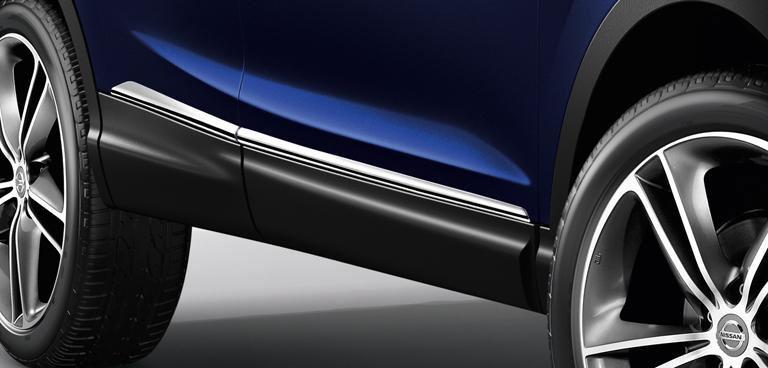 embellecedor lateral cromado Nissan  Nuevo