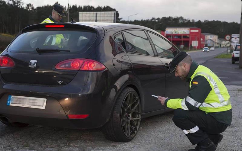 Multas DGT neumáticos en mal estado