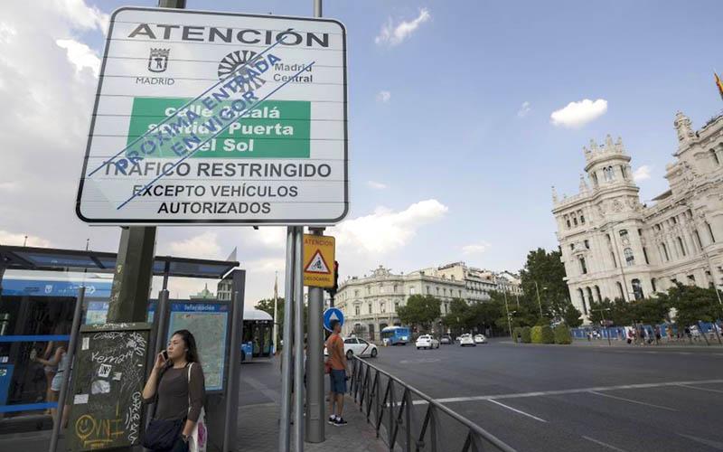 ¿Cómo evitar multas al circular por Madrid Central?
