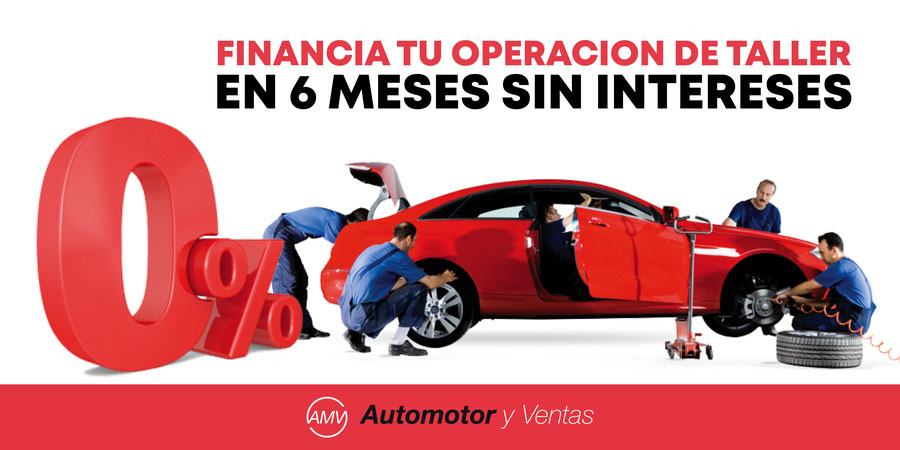 Financiar reparación taller