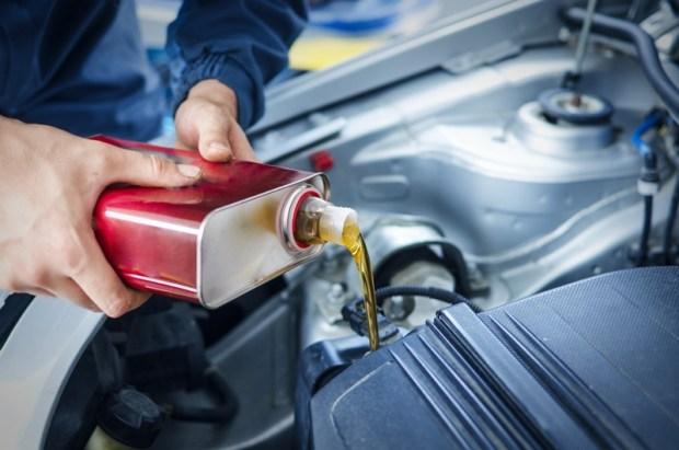 cambio de aceite vehiculo