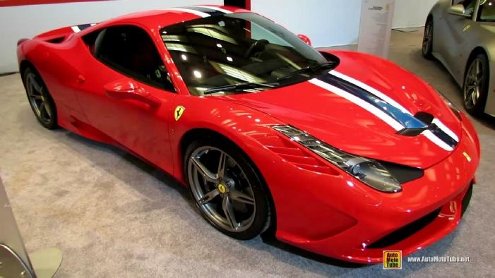 2014 Ferrari 458 Speciale At 2014 Toronto Auto Show
