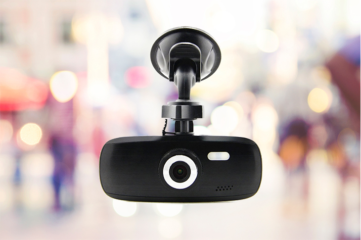 black box car dash camera
