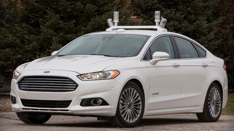 ford and google self-driwing car